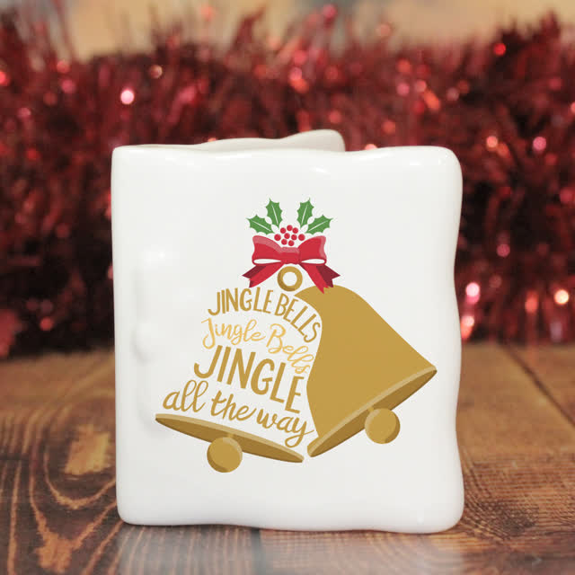 Jingle Bells Message Card