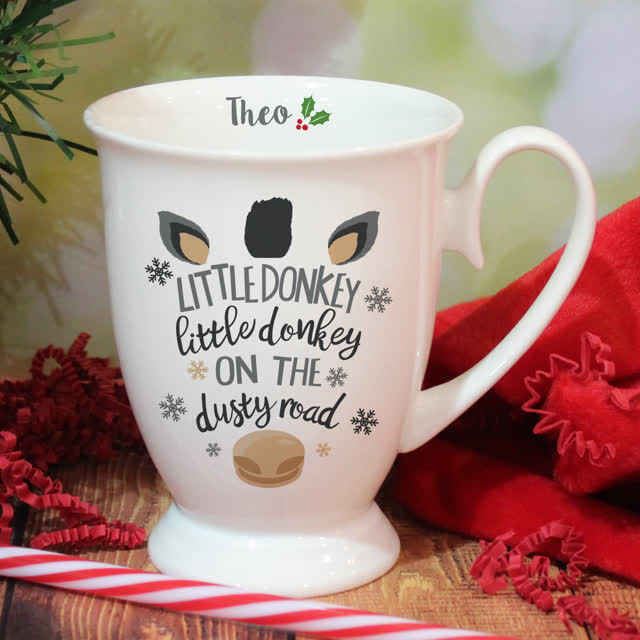 Little Donkey Marquee Mug