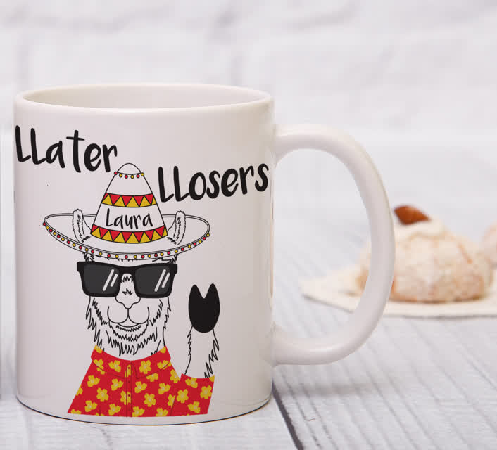 Llater Lloser Sublimation Mug