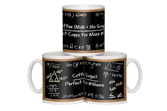 """Maths Made Easy"" Personalised Mug"