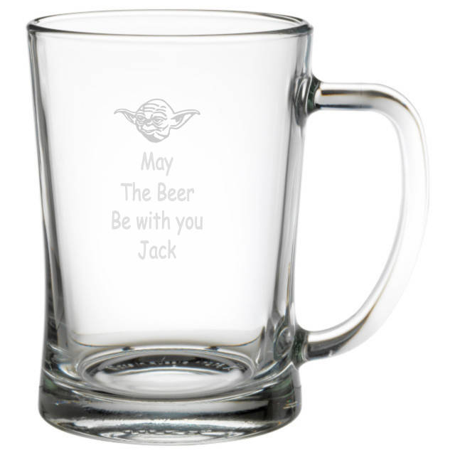 May The Beer Be With You Personalised Tankard
