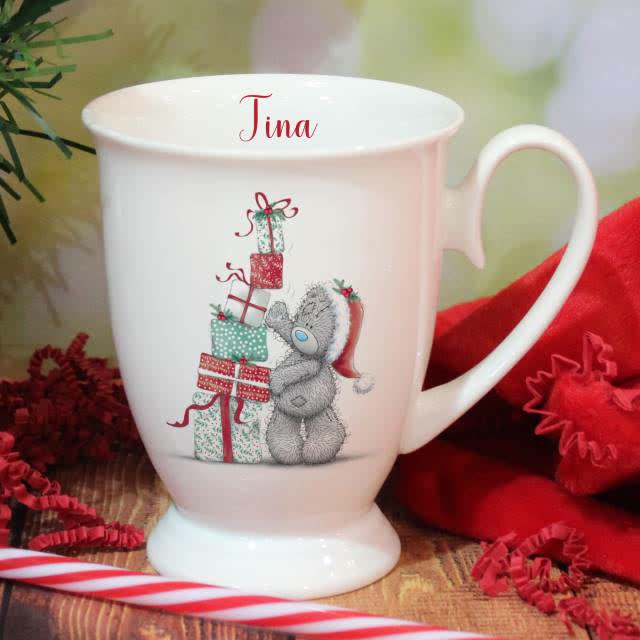 Me To You Christmas Presents Marquee Mug