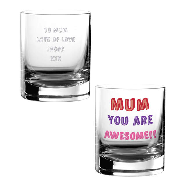 Mum You are...Glass Tumbler