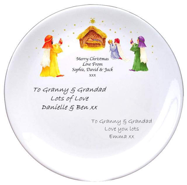 "Nativity Scene 8"" Signature Coupe Plate"