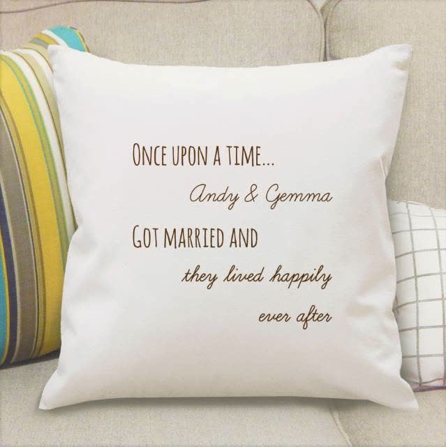 Once Upon A Time Cushion Cover