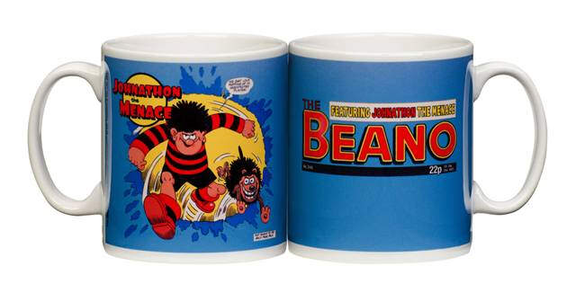 Personalised Beano Dennis and Gnasher Mug