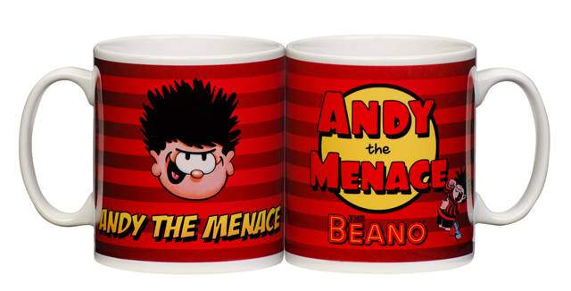 Personalised Beano Dennis the Menace Mug