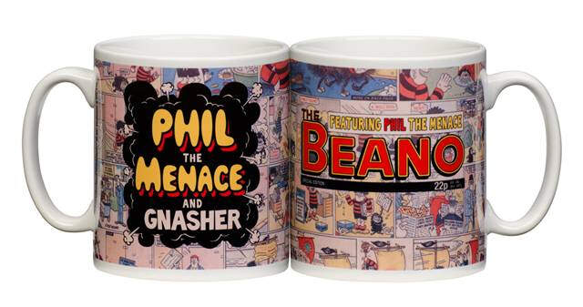 Personalised Beano Retro Comic strip Mug