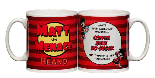 "Personalised Beano ""Tea Break"" Mug"