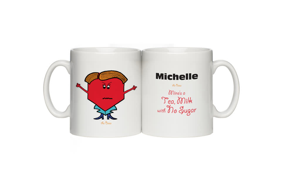 Personalised Boss Mug - Female