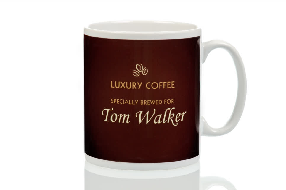 Personalised Coffee Lovers Mug Traditional Design