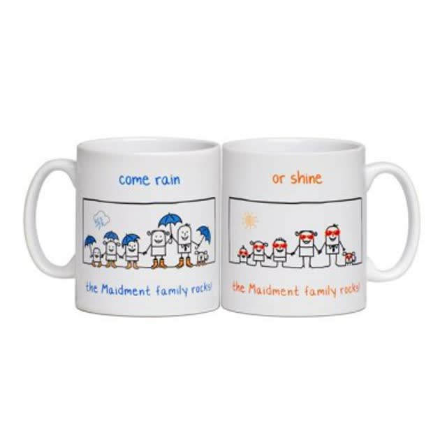 Personalised Family Mug - Our Family Rocks!