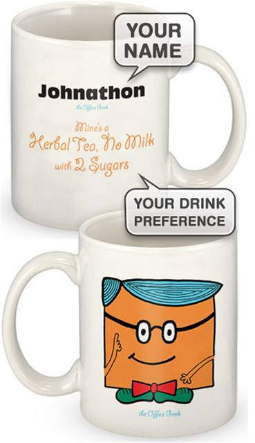 Personalised Geek Mug Male