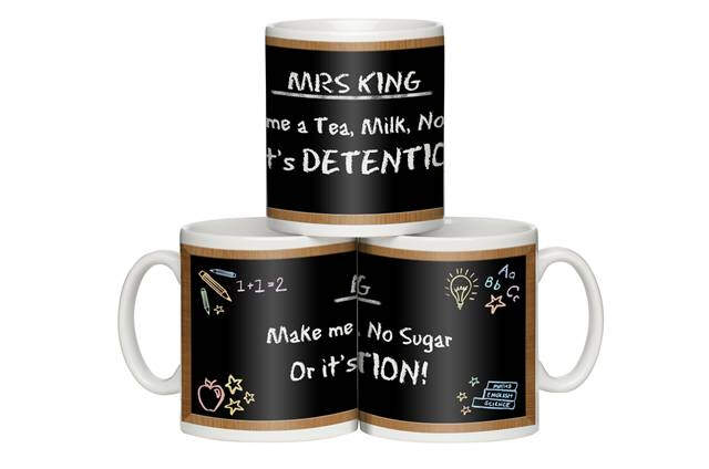 "Personalised ""In Detention"" Mug"