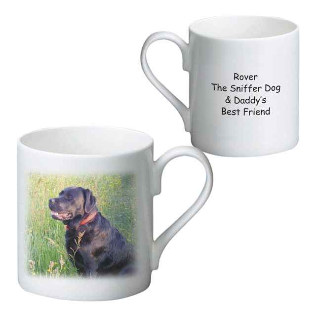 Personalised Photo Bone China Mug