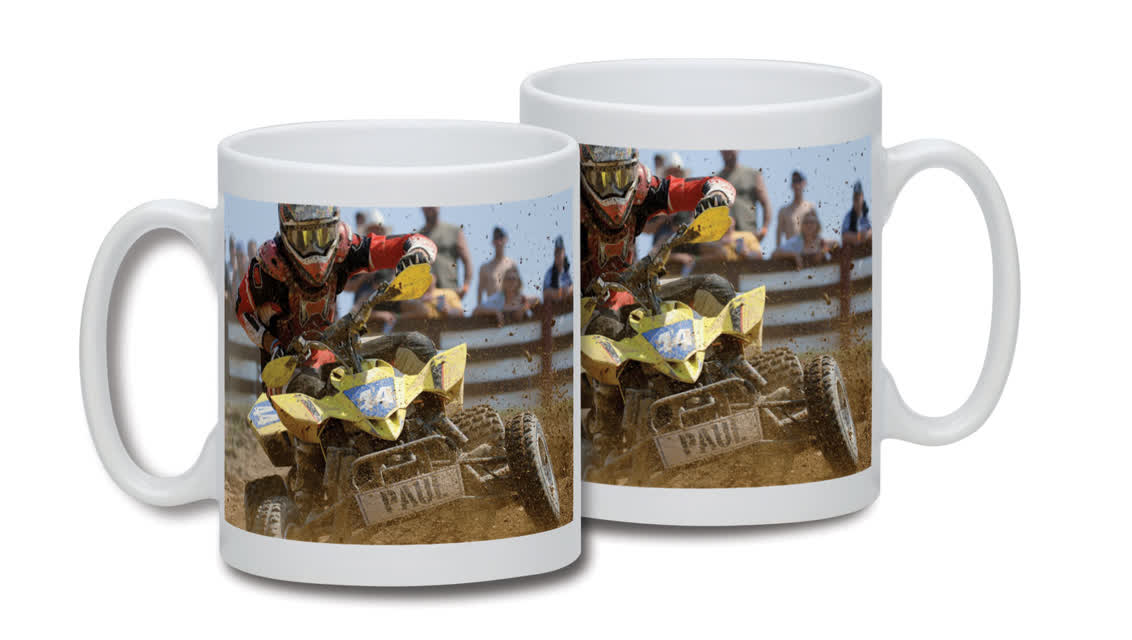 Personalised Quad Bike Mug