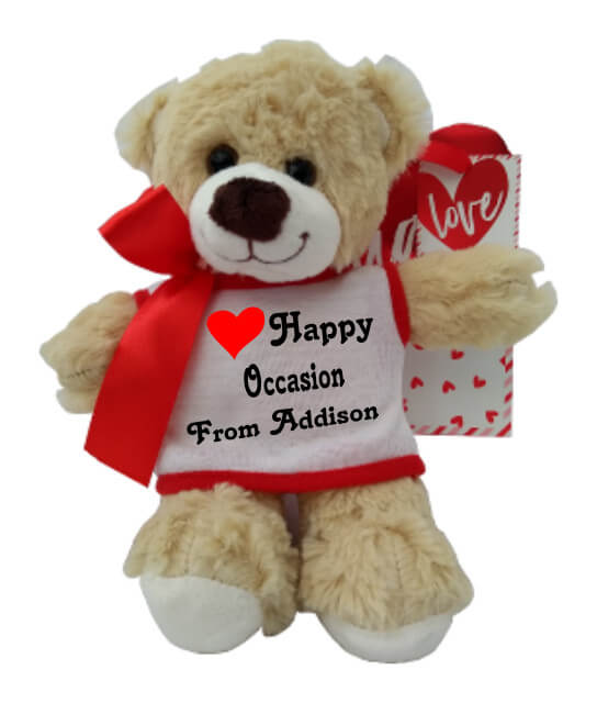 Personalised Richard the Teddy Bear Any Occasion