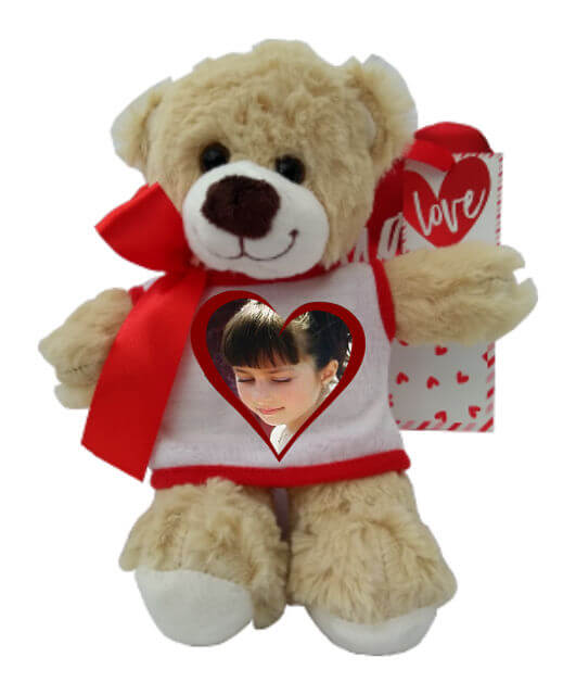 Personalised Richard the Teddy Bear Photo
