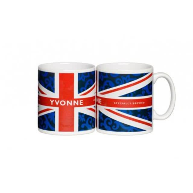 Personalised Tea Lovers Mug - Union Jack Design