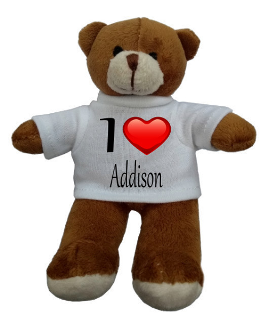 Personalised Teddy Bear I Heart You