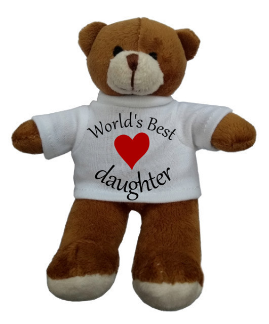 Personalised Teddy Bear World's Best