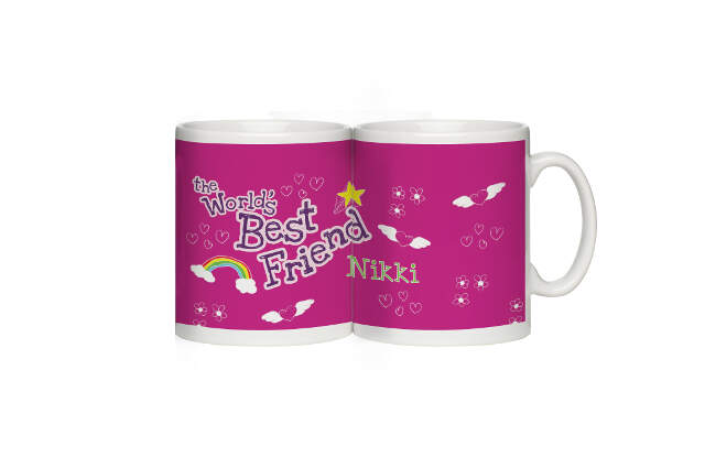Personalised World's Best Friend Mug