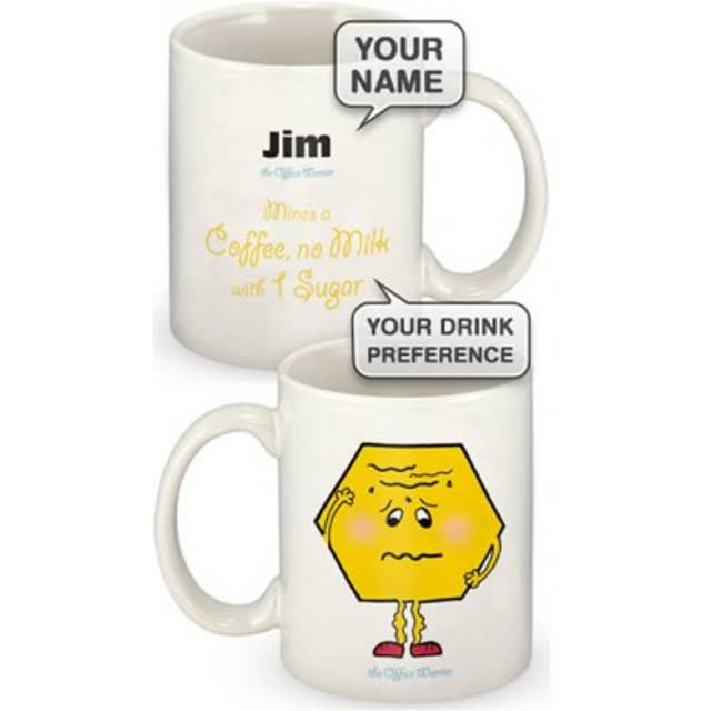 Personalised Worry Wart Mug