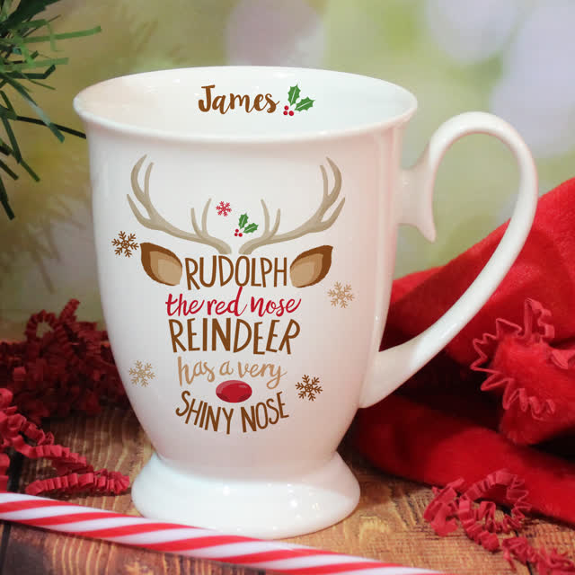 Rudolph the Red-Nosed Reindeer Marquee Mug