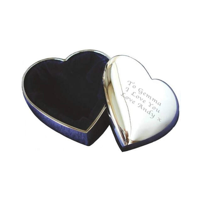 SP Heart Trinket Box