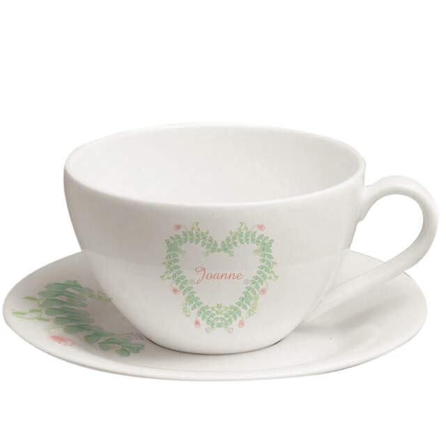 Spring Garden cup and saucer