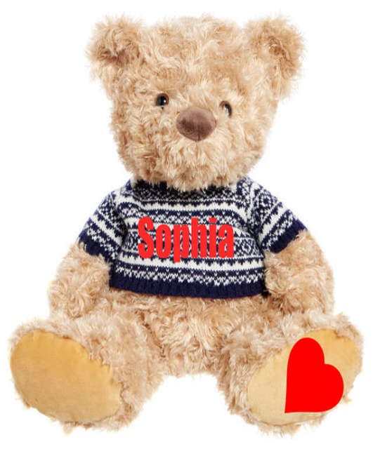 Sprinkles The Teddy Bear Name