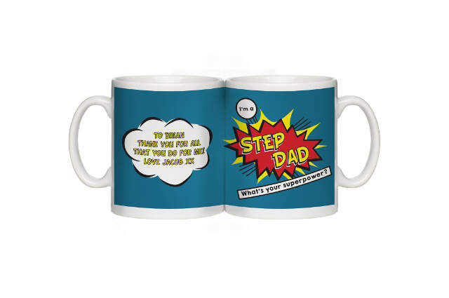 Super Step-Dad Mug