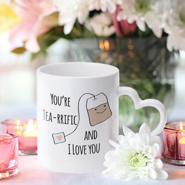 Tea-riffic Sublimation Mug