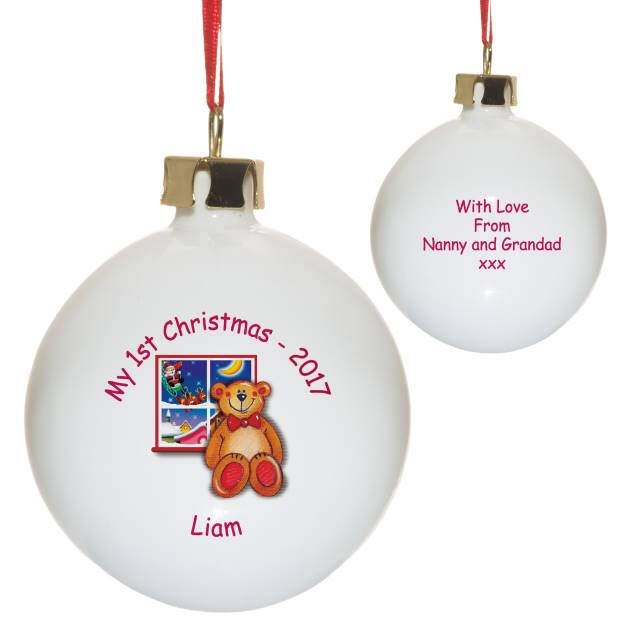 Find bone china baubles Christmas baubles  Alices Shop