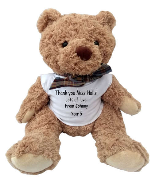 Thank You Teacher Snuggles the Teddy Bear