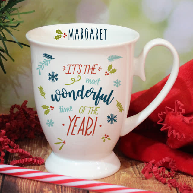 The Most Wonderful Time Of The Year Marquee Mug