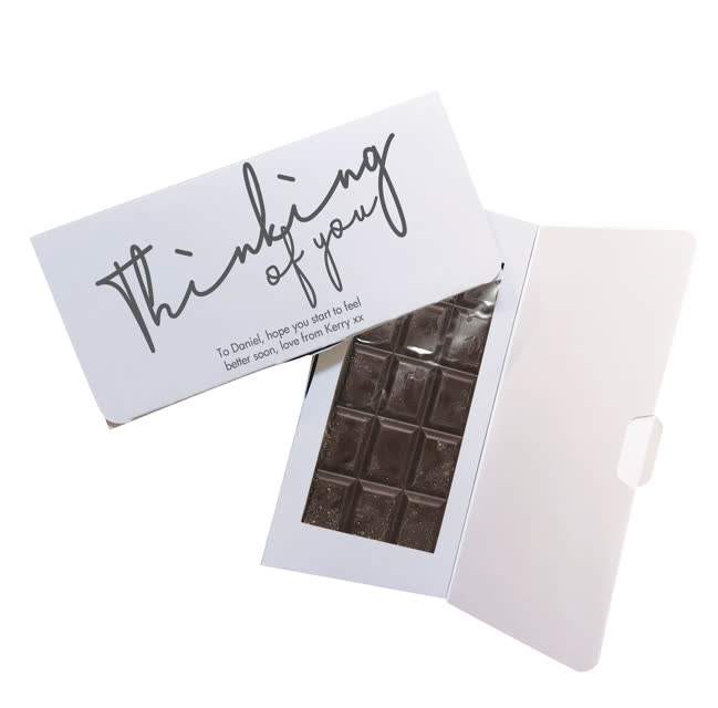 Thinking Of You Dark Chocolate Card