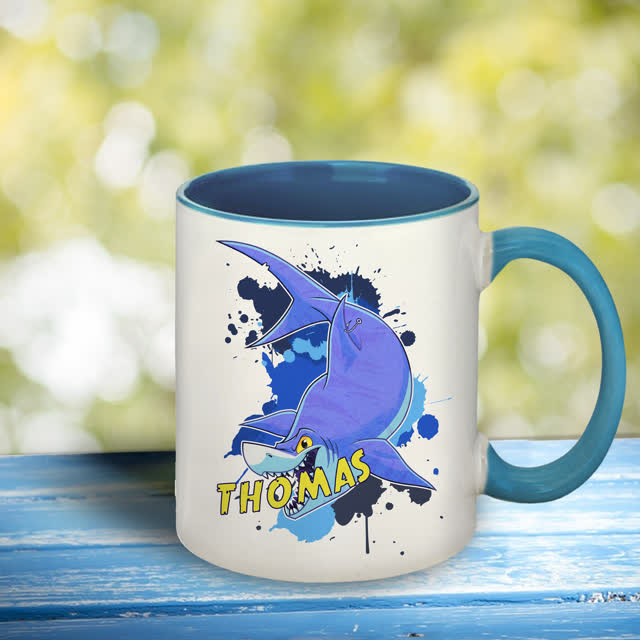 Underwater Adventure Shark Mug