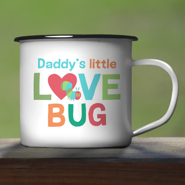 Very Hungry Caterpillar Love Bug Enamel Mug
