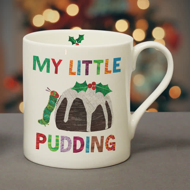 Very Hungry Caterpillar My Little Pudding Balmoral Mug