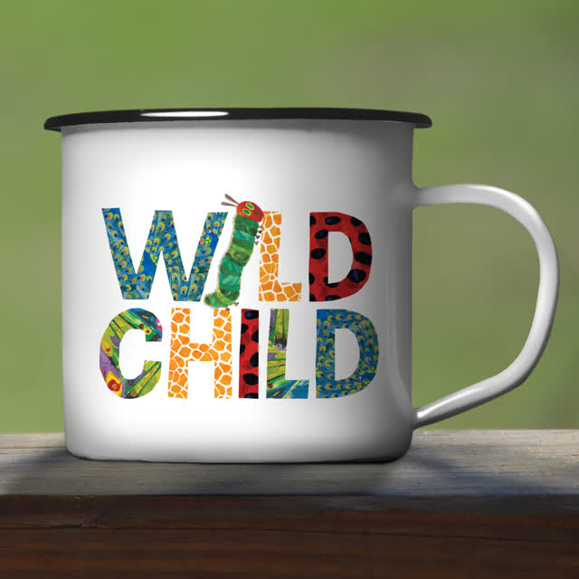 Very Hungry Caterpillar Wild Child Enamel Mug