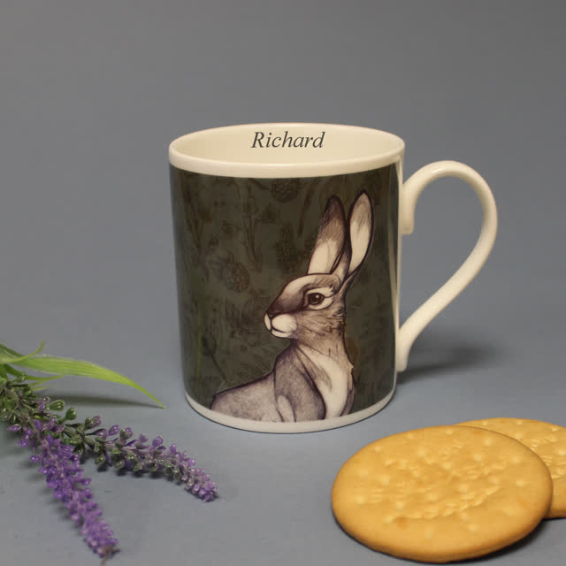 Watership Down Chunky Balmoral Mug - Hazel