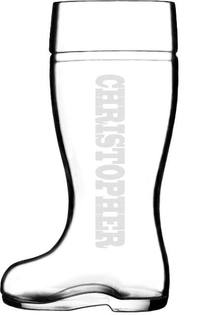 Welly Boot Glass