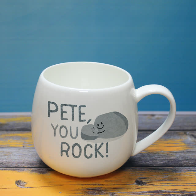 You Rock Hug Mug